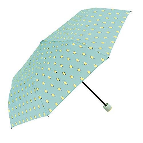 Paraguas Plegable Mujer - Mini Paraguas Helados Amarillos