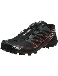 Salomon Unisex-Erwachsene S-Lab Speed Traillaufschuhe, Schwarz, 45.3 EU