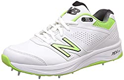 New Balance 4030v2 Men' Cricket Shoes, White, Uk9
