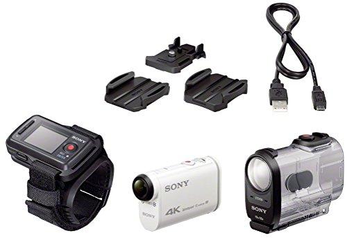 Sony FDR-X1000 4K Actioncam Live-View Remote Kit (4K Modus 100/60Mbps, Full HD Modus 50Mbps, ZEISS Tessar Objektiv mit 170 Ultra-Weitwinkel, Vollständige Sensorauslesungohne Pixel Binning) weiß - 16