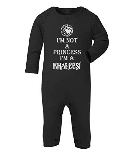 games-im-not-a-princess-im-a-khaleesi-baby-thrones-baby-strampler-strampelanzug-3-6-months-schwarz