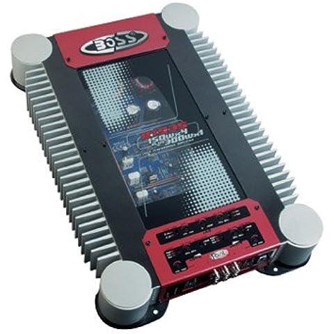 Boss rt935, 5-Channel MOSFET di potenza amplificatore, Riot + serie di controllo remoto per subwoofer, (Riot Serie)