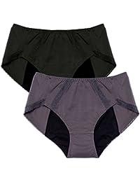 Intimate Portal Mujer Bragas de Protección Total Contra las Fugas - Bragas para el Menstruo o