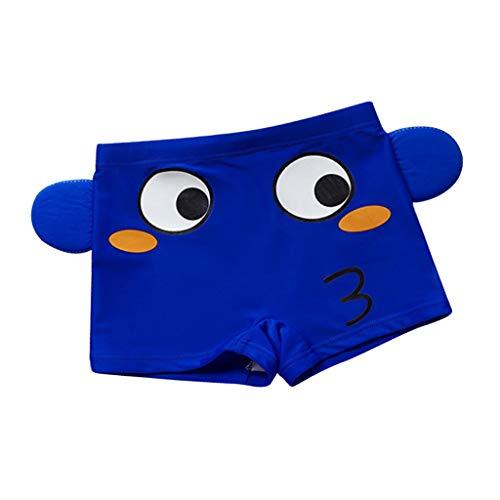 SM SunniMix Badehose Badeshorts Schwimmhose für Kinder Jugendliche - Blauer Fisch, XL
