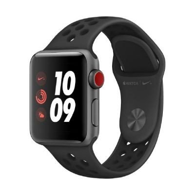 Apple Watch Nike+ smartwatch Grigio OLED Cellulare GPS (satellitare)
