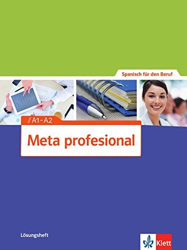 Meta profesional A1-A2: Spanisch für den Beruf. Lösungsheft (Meta profesional / Spanisch für den Beruf) - Bild 1