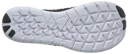 Nike Wmns Free Rn Flyknit, Scarpe da Corsa Donna Bianco (Black / White) (nero)