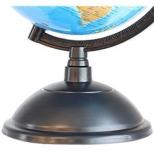 Juvale – Globo terráqueo, ideal para niños o profesores (20cm)