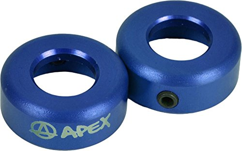 Apex bar ends 13549701 Azul + Fan tic26 Pegatinas