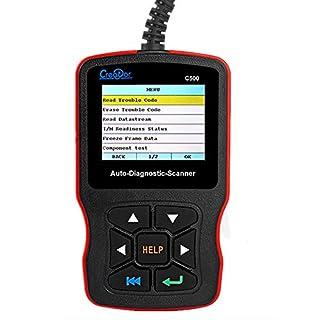ZUEN Autodiagnosescanner Creator C500 für OBDII/BMW/Honda