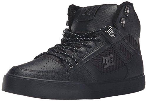 dc-spartan-hi-wc-se-black-white-mens-skate-trainers-shoes-boots-9