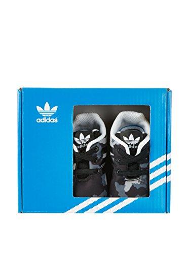 Adidas Originals Trainers - Adidas Originals Infant ZX Flux Crib - Core Black/White Schwarz