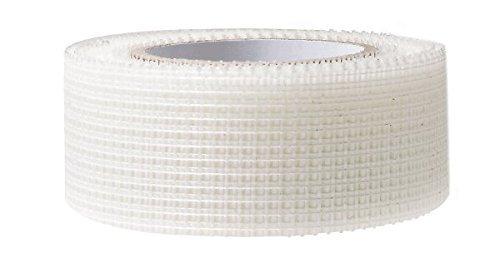 Gitterband selbstklebend - Glasfaserband 48mm x 90m ideal als Anti Rissband zur Rissüberbrückung in Mauerwerken bei Putzerarbeiten