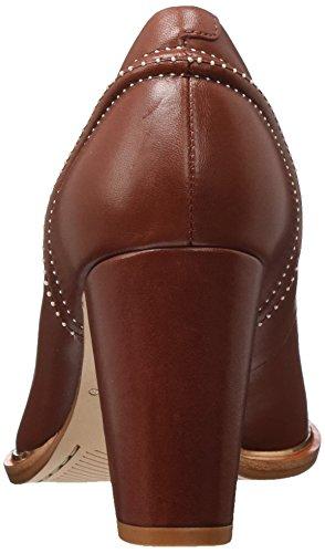 Clarks Damen Ellis Edith Pumps Rot (Rust Leather)