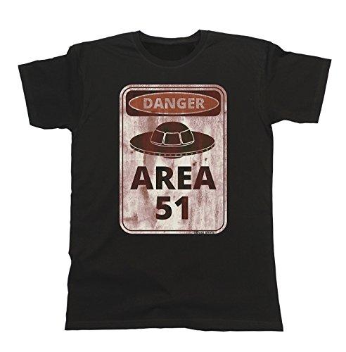 Camiseta Area 51 Aliens, llevada por Iker Jiménez durante la emisión del Programa 31 de Milenio Live