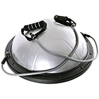 66fit Balance Core Trainer With Tubes - Includes Balance Training Ebook - Workout Core Fitness Exercise Dome