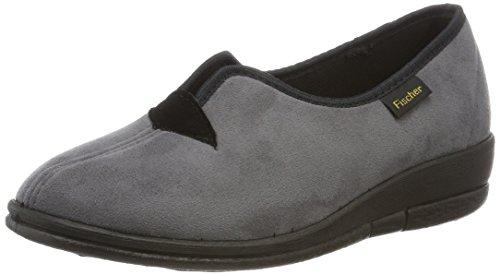 Fischer Dora, chaussons d'intérieur femme Gris