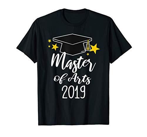 Master of Arts 2019 T-Shirt Abschluss Geschenk Studium T-Shirt -