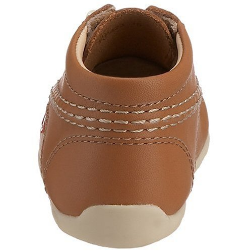 Kickers Kick Hi - Baskets - Mixte Bébé Brun (Tan/Natural/Natural)