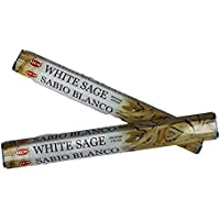 HEM Räucherstäbchen White Sage Weißer Salbei 20 g Hexa original 20 Räucherstäbchen Nandi preisvergleich bei billige-tabletten.eu