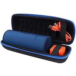 Voyage Étui Rigide Housse pour Ultimate Ears UE Boom 3 Haut-Parleur Bluetooth sans Fil par Aenllosi (Boom 3, Bleu)