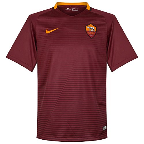 Nike AS Roma M Ss Hm Match Jsy - Camiseta de manga corta para hombre, color rojo, talla XL
