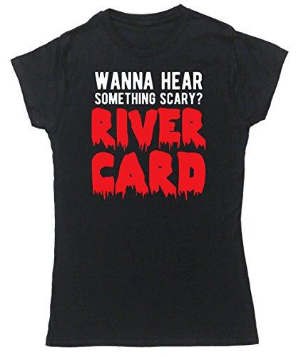 HippoWarehouse Damen T-Shirt X-Large Schwarz