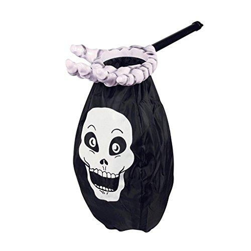 Halloween Kinder diskutieren Zucker Requisiten Geist Geschenk Persönlichkeit kreative Palm Süßigkeiten Tasche Unfug