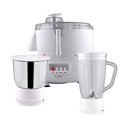 Morphy Richard Mixer Juicer Grinder-Cutie Color-White