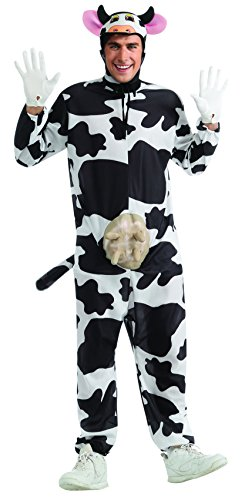 Adult cow for Halloween size Comical Cow Adult comical: Standard One-Size (japan import)