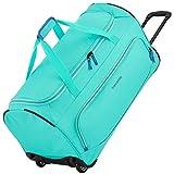 travelite Basics Rollenreisetasche Fresh 71cm türkis