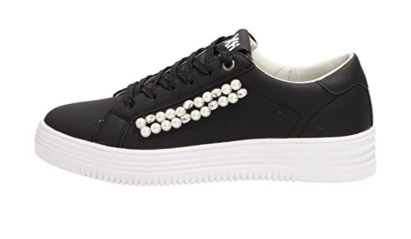 Xti Negro Scarpa Donna Sneakers 48041 EFSEvy
