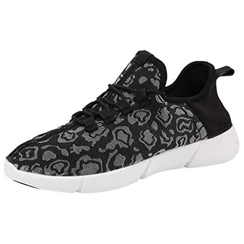 HDUFGJ Sneaker Unisex - Kinder LED Schuhe USB Aufladen Leuchtschuhe Licht Blinkschuhe rutschfeste Bequem Leichtgewicht Laufschuhe Faule Schuhe Freizeitschuhe Turnschuhe fitnessschuhe32 EU(Schwarz)