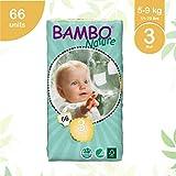 Bambo - 7013 - Pañales Ecológicos Bambo Midi T3 66 uds