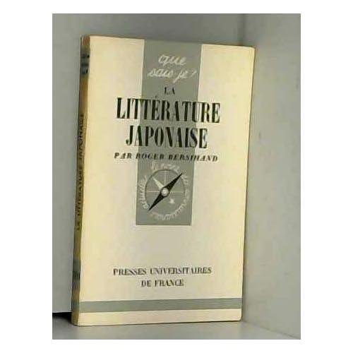 La litterature japonaise
