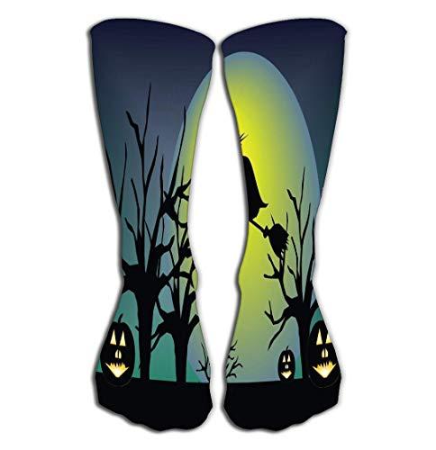 Xunulyn Hohe Socken Thin High Socks High Graduated Compression Long Socks 19.7