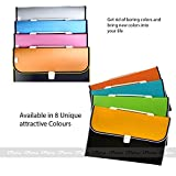 #7: iParn Expanding File Folder, Accordion Document/Letter A4 Size File Organizer with Handle and 13 Pockets - Assorted Colour
