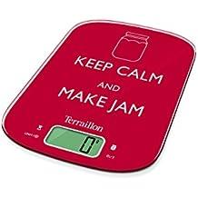 Terraillon Neo Cook Jam báscula de, rojo