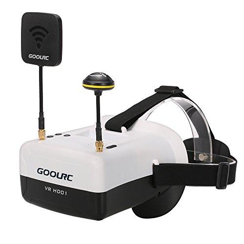 Preisvergleich Produktbild GoolRC VR HD01 40CH Duo Antennen FPV Goggles Video Brillen für FPV Live Übertragung Racing Drohne H501S Inductrix QX95 NH-010 Quadrocopter