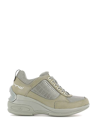 Fornarina PIFDY7615WJD Daily Sneaker, Donna, Grigio (Grey 06), 38