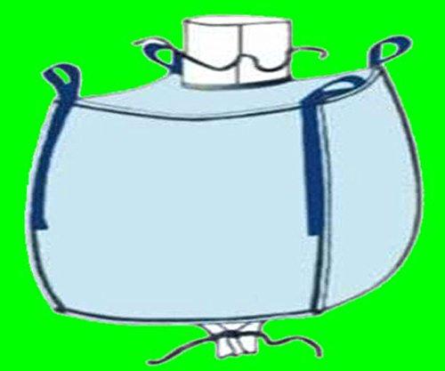 10 Stück gebr. Big Bag ca. 90 x 90 x 90 cm (HxBxT) – 1000 kg Traglast – Bags, BIGBAG, Fibc, FIBCS, Bigbags, SF 5:1