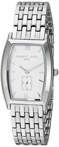 ROBERTO BIANCI WATCHES Women's 'Classico' Swiss Quartz Stainless Steel Casual Watch, Color:Silver-Toned (Model: RB18321)