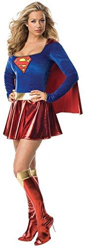 Supergirl Deluxe costume Adult Fancy Dress (Marvel Comic Kostüme Ideen)