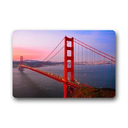 Doormat No.01 Haute qualité et de Nouveaux Mode Pont du Golden Gate Paillasson Paillasson