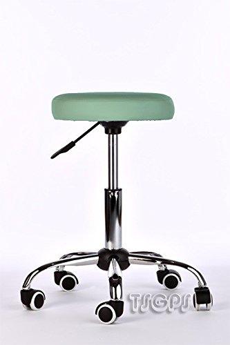 Kosmetik Arbeitshocker Massage Hocker, höhenverstellbar, türkis grün