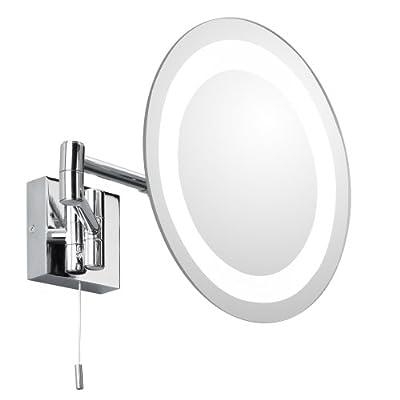 Astro 356 Kosmetikspiegel IP 44 chrom Bestückung: 1x G9, 25 Watt inklusive Leuchtmittel von Astro auf Lampenhans.de