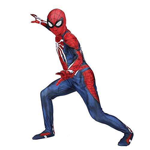 LCRBT Spiderman 3D-Druck Spandex Spiele Spidey Cosplay Anzug Halloween Cosplay (Spidey Kostüme)