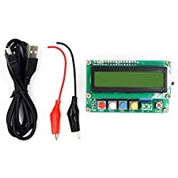 nbvmngjhjlkjlUK LC100-A LCD Digital con Todas Las Funciones Capacitancia de Alta precisión Inductancia Capacitancia L/C Medidor Capacitor Instrumentos de Prueba