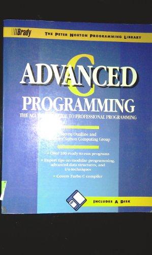 Advanced C  Programming (The Peter Norton programming library) PDF