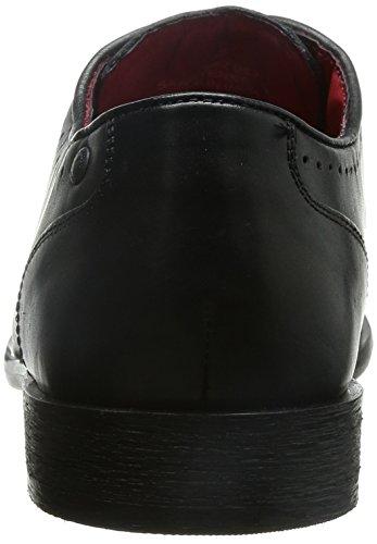 Base London Cayenne, Chaussures de ville homme Noir (Waxy Black)